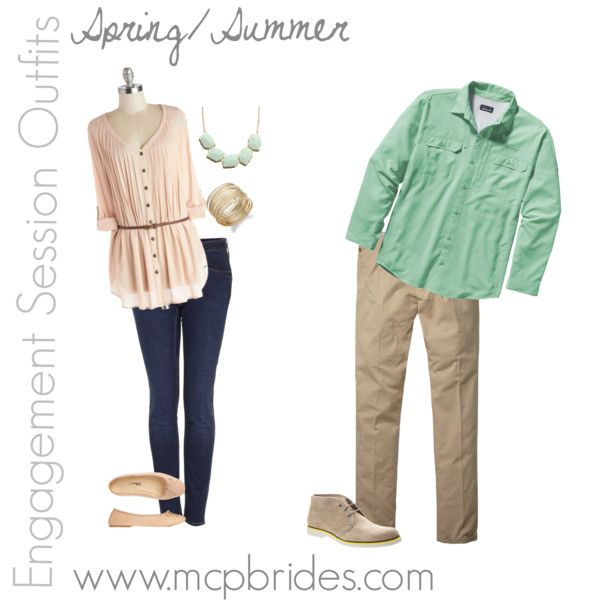 Spring/Summer Engagement Session Outfit Ideas mcpbrides.com Elizabethtown, KY