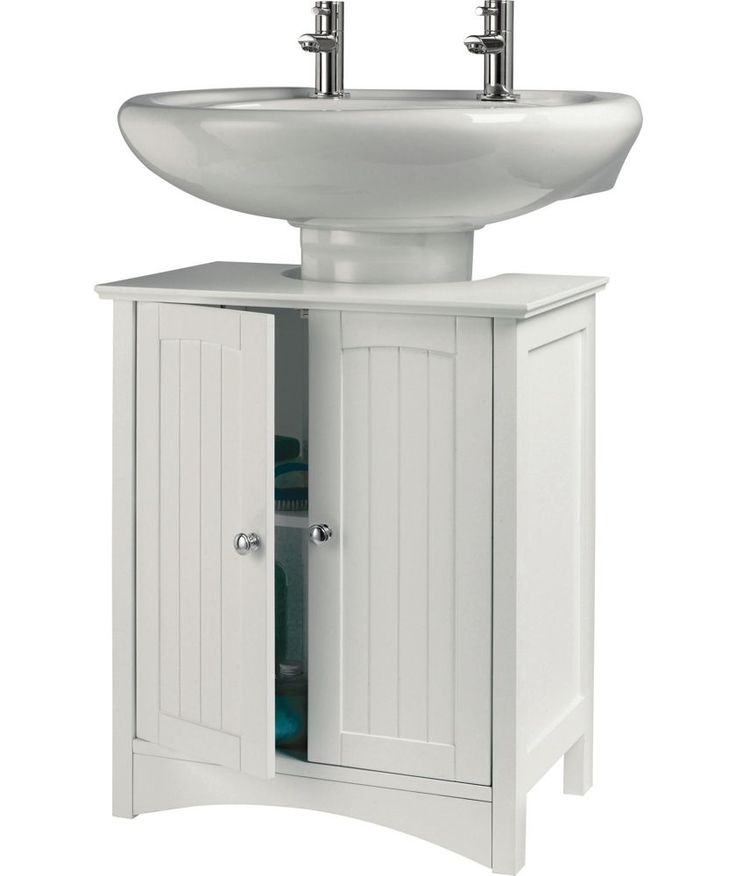 Buy Tongue And Groove Under Sink Storage Unit White At Argos Co Uk Your Online Shop For Bathroom Bathroom Storage Bench Sink Storage Bathroom Sink Storage