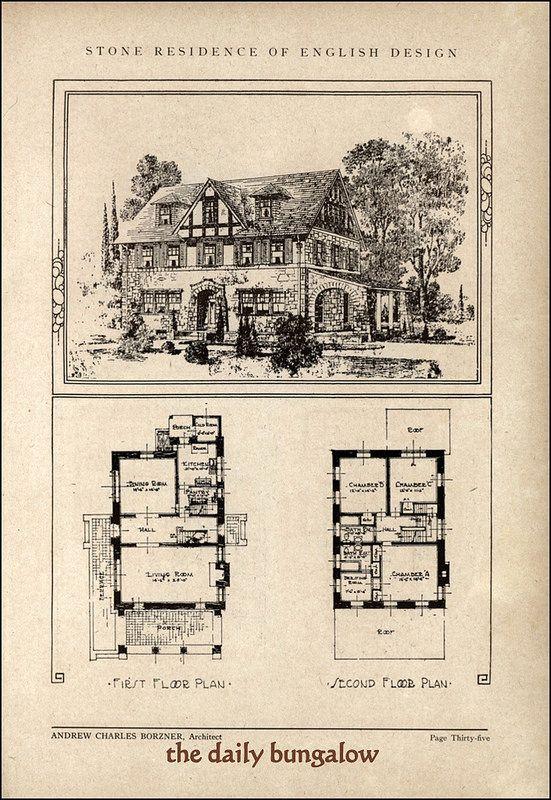 The 908 best Historic Floor Plans images on Pinterest | Vintage ...