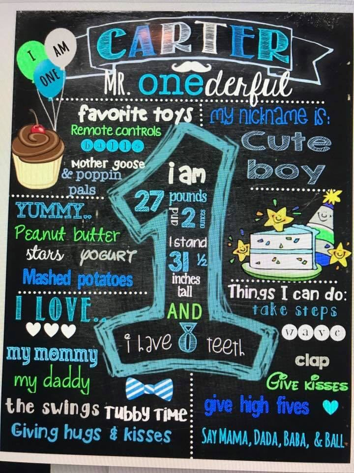 mr onederful mr wonderful 1st birthday