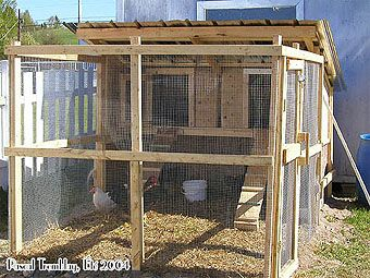 Poulailler pas cher - Construire un poulailler - Construire un enclos - Construire une volière