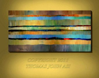 Image result for waterfall impasto
