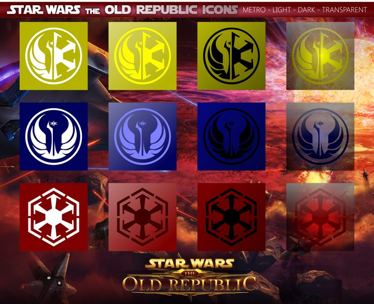 Star Wars: The Old Republic Icons Mix by xmilek.deviantart.com on @deviantART