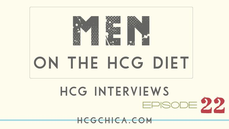 Men on hCG results - 65lb weight loss after 1 round of injections - Episode 22: hCG Diet Interviews - YouTube