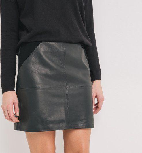 1000 id es propos de jupe cuir sur pinterest jupe tenues avec veste en cuir et jupes en cuir. Black Bedroom Furniture Sets. Home Design Ideas