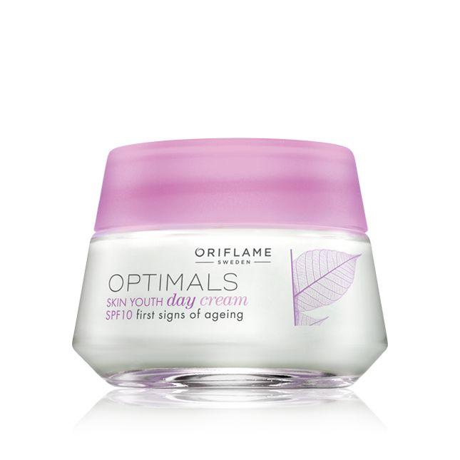 Crema de Día Skin Youth SPF 10 Optimals #oriflame