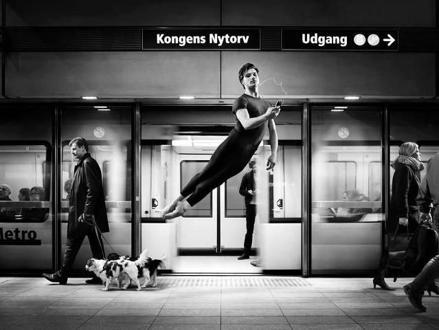 Alban Lendorf in a commercial for the Royal Danish Theatre/Ballet.