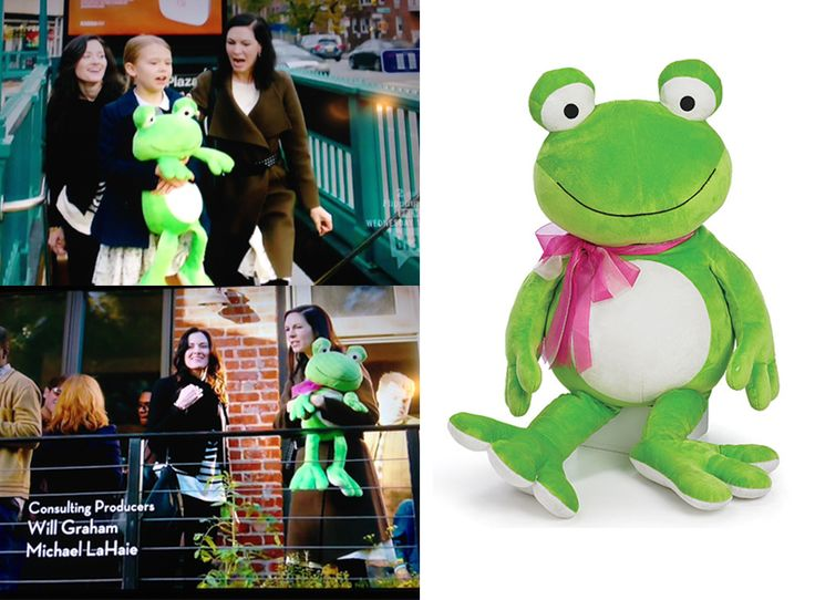 Spotted our Frog Plush, Product #: 986731, on the new Bravo show, Odd Mom Out! Check out the Frog Plush here: http://www.burtonandburton.com/40-GREEN-FROG-DZ78508.asp #burtonandburton #plush