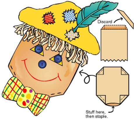 Scarecrow Craft Fun Fall Scarecrows     Grades: 2nd-5th