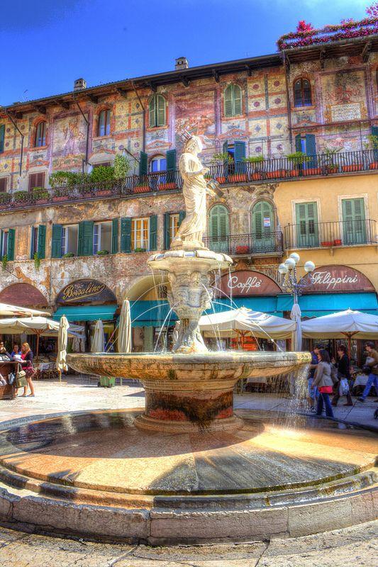 Madonna Verona fountain, Verona