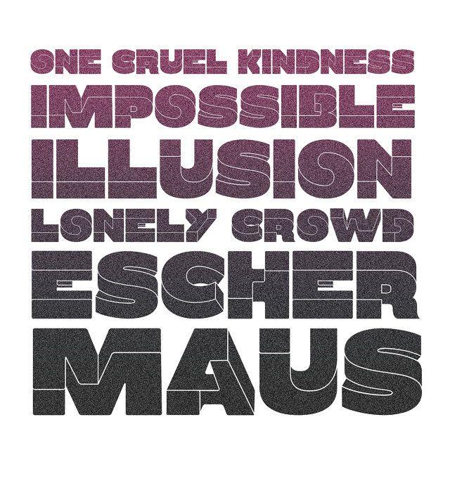 2 | What If M.C. Escher Designed A Typeface? | Co.Design | business + design