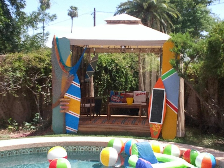 357 best images about backyard on pinterest for Garden pool party 2015