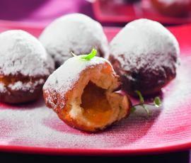 Recept Koblihy od Vorwerk vývoj receptů - Recept z kategorie Dezerty a sladkosti