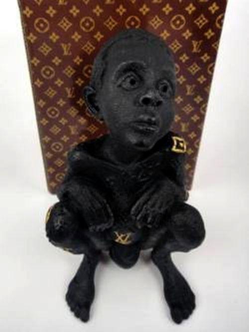LIMITED Edition 100 ED Louis Vuitton LV Child Bronze BEEJOIR UK Statue w/ COA