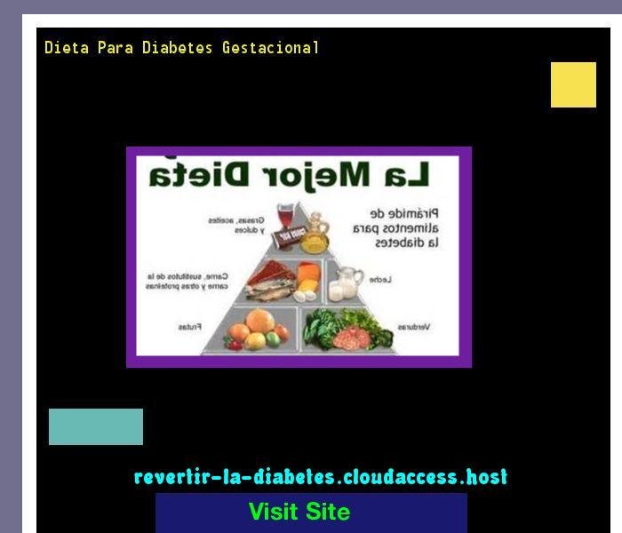 Dieta Para Diabetes Gestacional 192440 - Aprenda como vencer la diabetes y recuperar su salud.