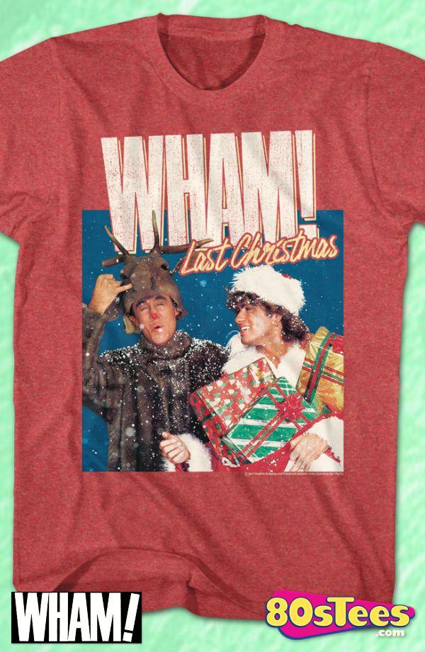 George Michael Last Christmas WHAM! T-Shirt