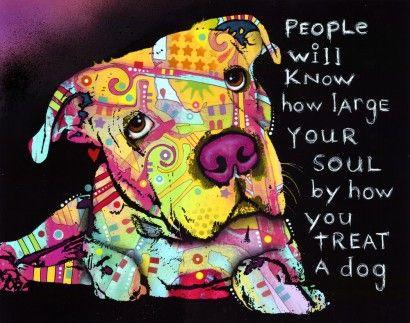 Crie seu quadro com essa imagem! https://www.onthewall.com.br/frases-e-citacoes/soul-and-dog #doglovers
