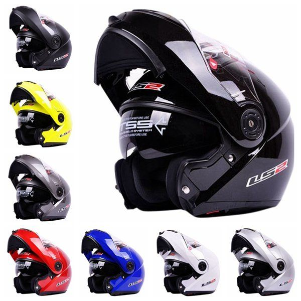 Motorcycle Vehicles Run Off-road  Full Face Helmet for LS2