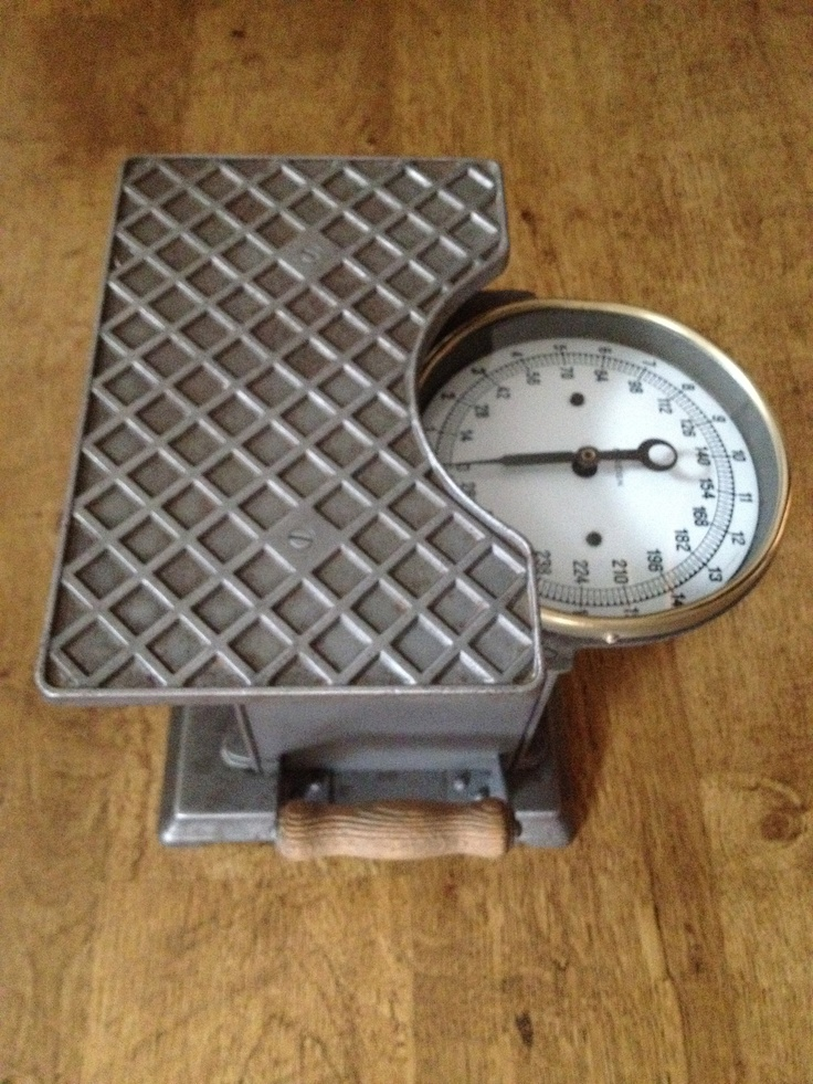 Vintage bathroom scales- sold