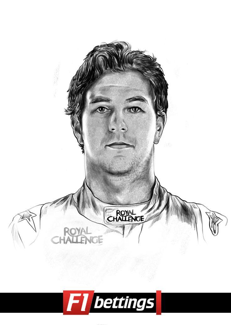 F1 driver Sergio Perez f1-bettings.com