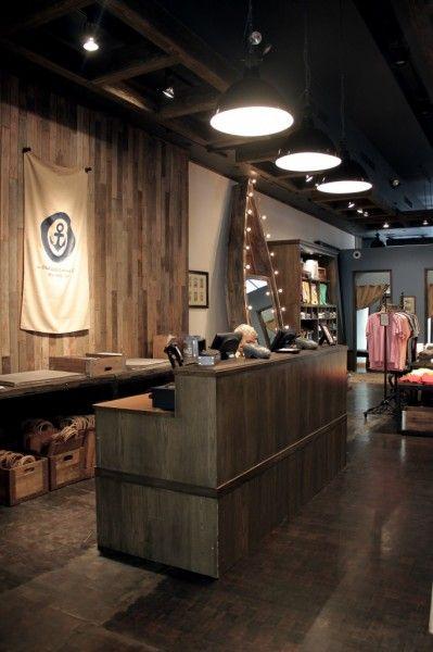 Showroom Cash Counter Design