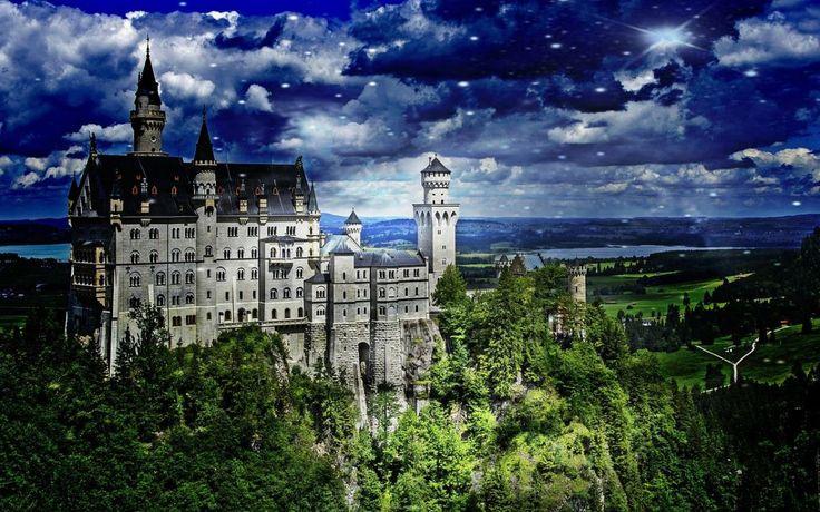 """Neuschwanstein czyli """"zamek Disneya"""" - symbol Bajkowego Króla"""