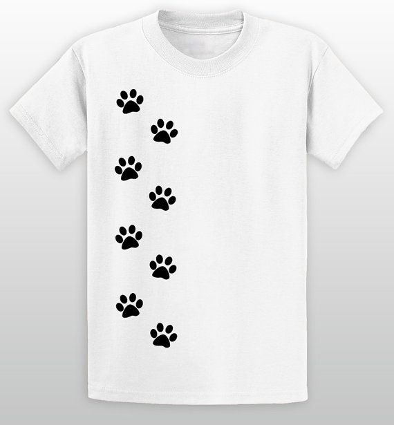 Running Paws T-Shirt  Pet Lover T-Shirts  Available for