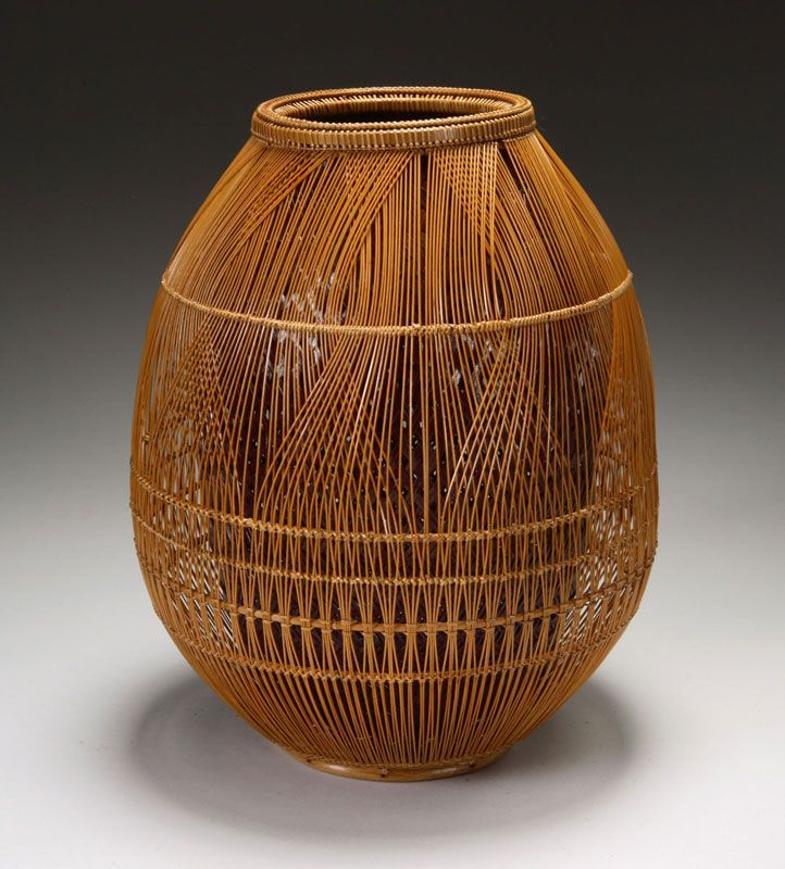 Basket Weaving With Bamboo : Best baskets images on basket weaving