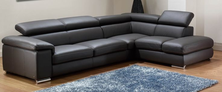 Modern Leather Sectional Sofa Leather Sectional Sofas Leather Sectional Sofas For Small Spaces