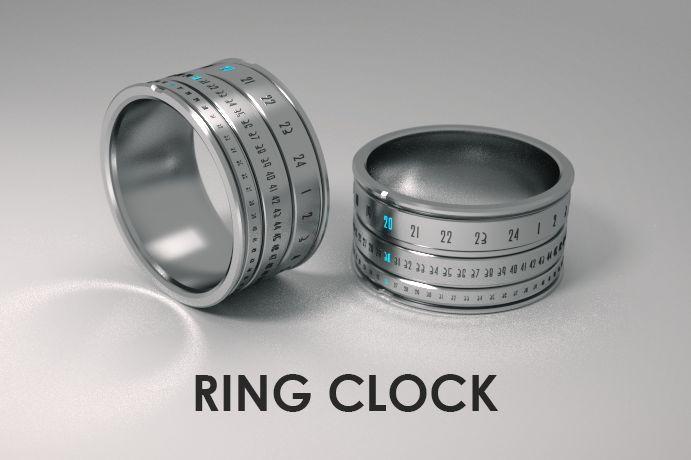 기어박스 » 손가락이 째깍째깍 'Ring Clock'