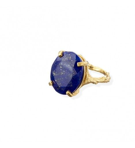 Beauty in the Wild Ring in Lapis Lazuli