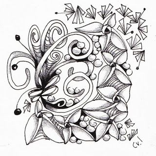 "Sierra Ink....Ink on Vellum 3.5 x 3.5"" string 069, triadz, well, mooka, tipple"