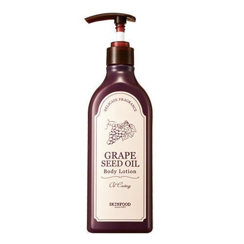 SKINFOOD Grape Seed Oil Body Lotion 335ml - Korea Cosmetic #Skinfood