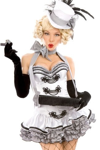 """cigarette girl: costume elements for """"candy girl"""""""