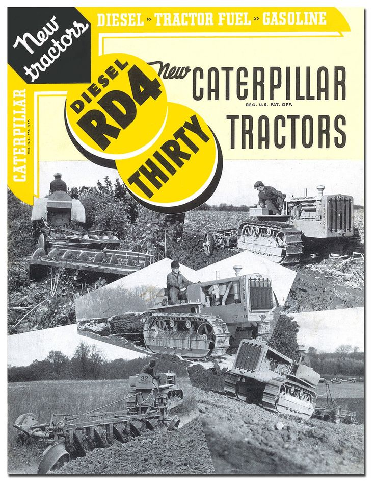 Caterpillar-RD4-And-Thirty-Tractor-Book-1936.jpg (1244×1600)