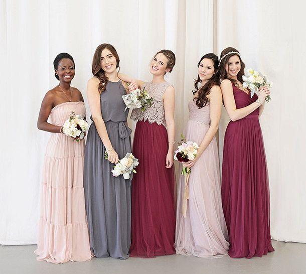 Unique Mix and Match Bridesmaid Dresses | BHLDN