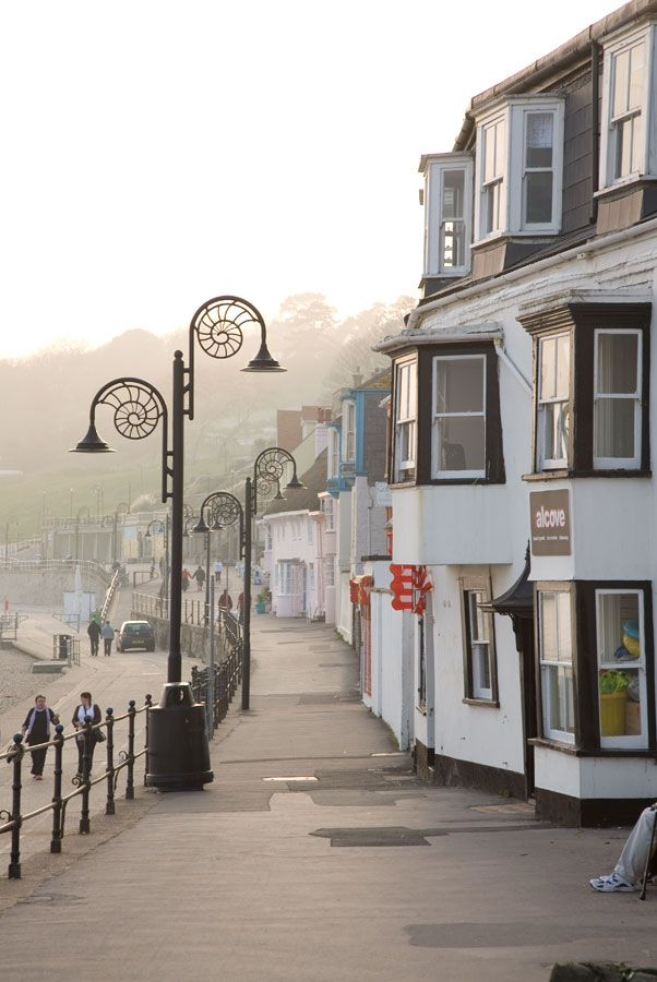 Beautiful place to visit ~ Lyme Regis is a coastal town in West Dorset, England,
