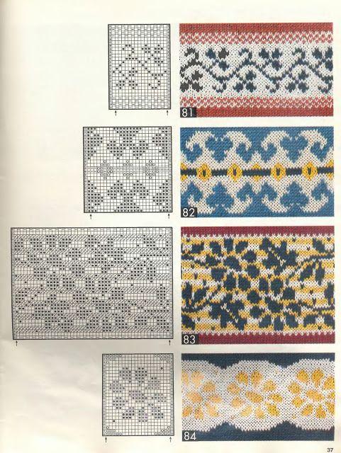 Burda E293 BCE Vzory - Isabela - Knitting 2 - Picasa Web Albums