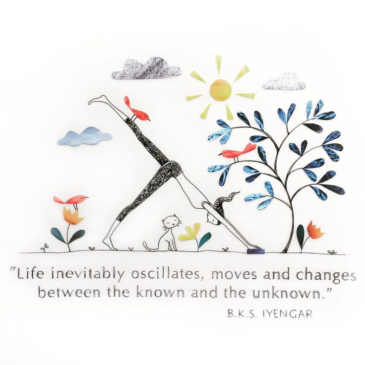 Life moves between the known and unknown