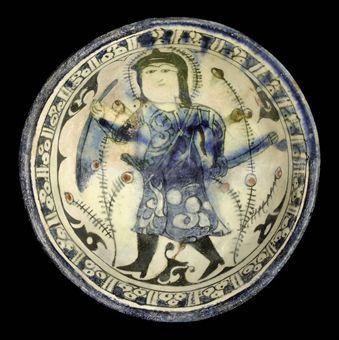 A RAQQA BOWL, SYRIA, 13TH CENTURY