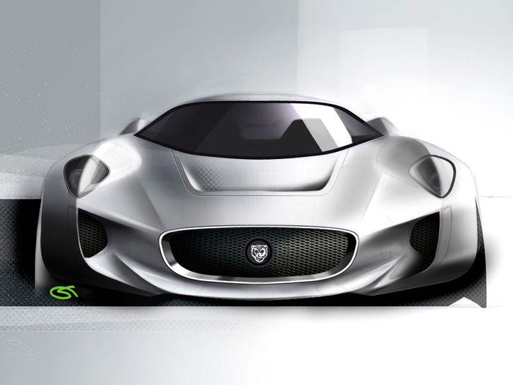 Jaguar-C-X75-Design #jaguar #design