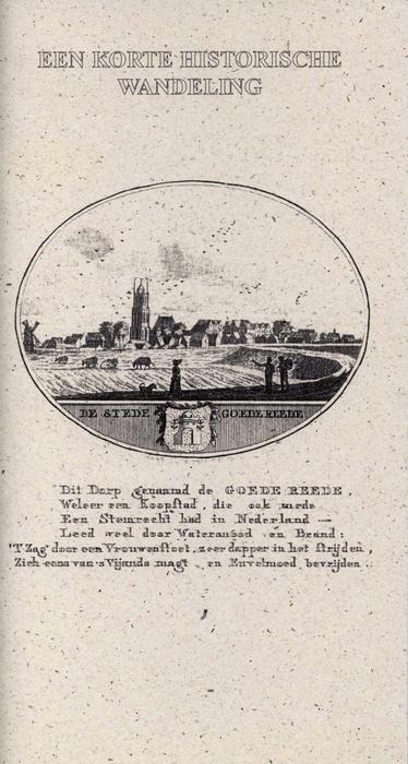 Een korte historische Wandeling door Goedereede op www.zeelandshop.com