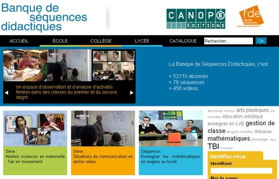 Gratuit : 456 vidéos, 76 séquences didactiques sur la pratique de la classe du primaire au secondaire  