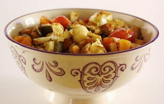 Legumes assados no forno: Oven, Day