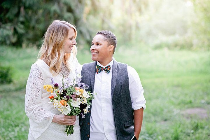 Rustic Cabin Elopement Inspiration in Oregon from Kel Ward Photography
