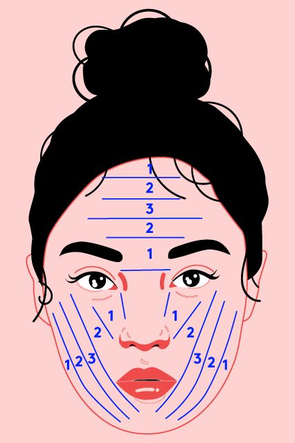 Korean Beauty School - Foundation Coverage Technique | Find out why this foundation technique is the best new way to apply your makeup. #refinery29 http://www.refinery29.com/2016/11/129858/korean-beauty-school-jungsaemmool-foundation-application