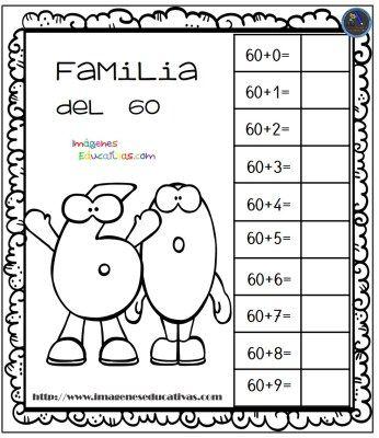 Aprendemos la familia de los números - Imagenes Educativas