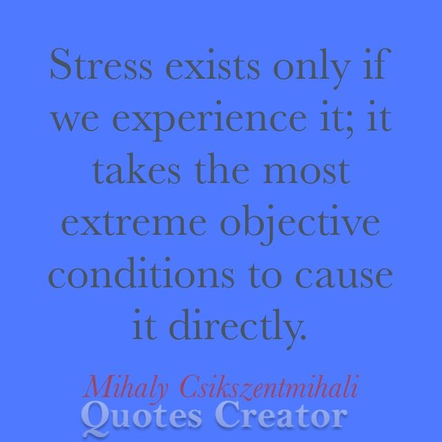 stress quote