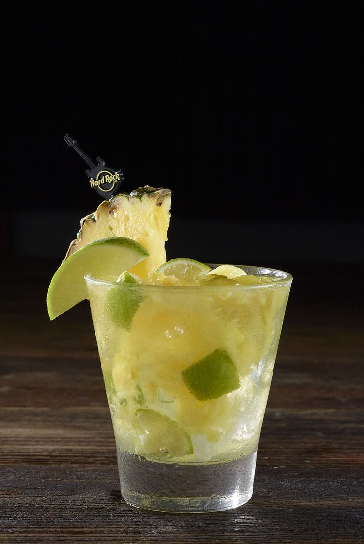Pineapple Ginger Caipirinha #WorldBurgerTour