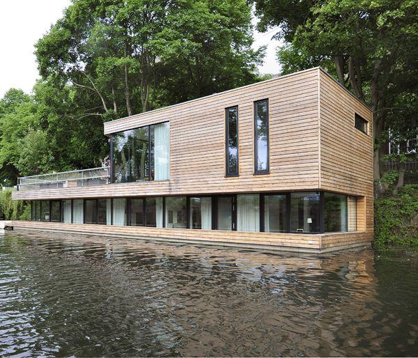 Hausboot martinoff architekten